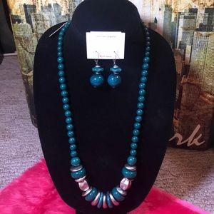 Jewelry - Stone & Thomas Necklace & Earring Set